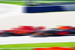 F1 Race car, pass very quickly, car sport, blurred background, racing picture, formula 1, Max Verstappen, red bull racing, catch up ferrari, grand prix