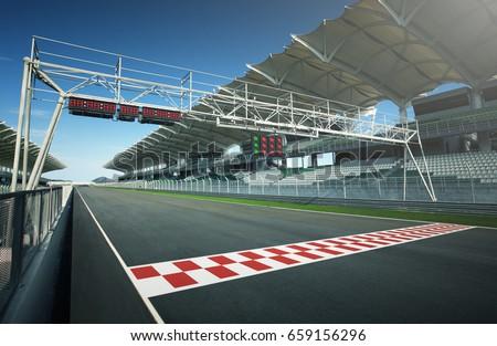 F1 race track #659156296