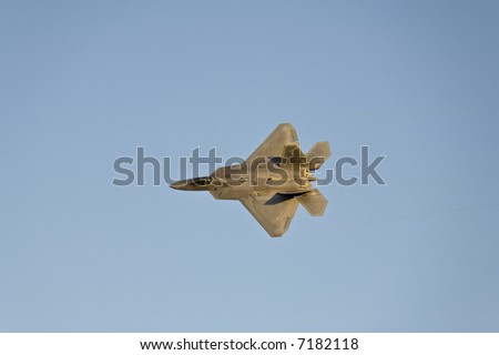 F22 Raptor on display at Aviation Nation 2007.