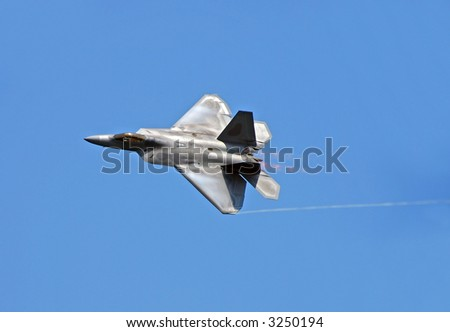 F-22 Raptor state of the art fighter jet