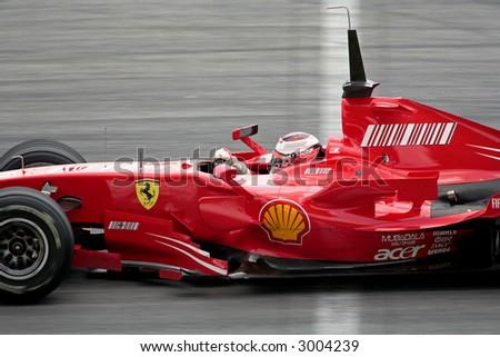 f1 2007 scuderia ferrari raikkonen