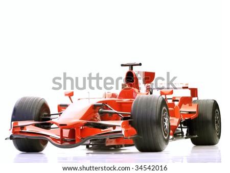 f1 sport car - stock photo