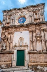 Façade of the Immaculate Church (