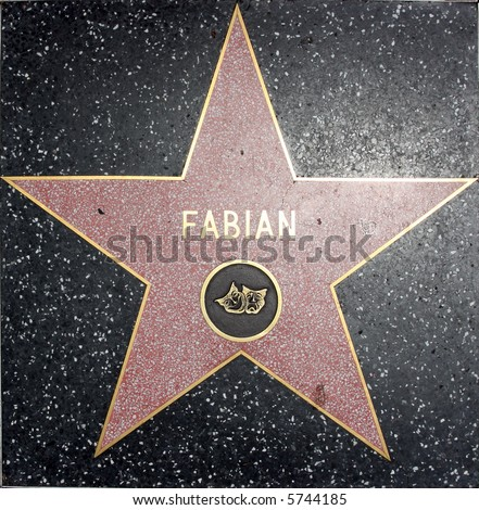fabian walk of fame star theater