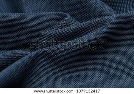 Fabric blue background light and shadow 3 #1079132417