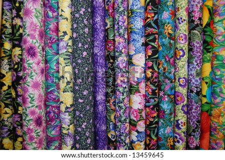 Fabric bolts - Small scale floral prints