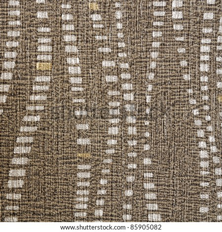 Fabric brown texture stripe pattern