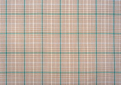 Fabric.Checkered fabric. Checkered pattern on fabric of different colors. Material for clothing