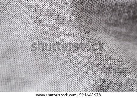 Fabric Close Up Selective Focus #521668678