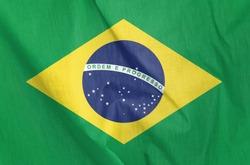 Fabric Flag of Brazil