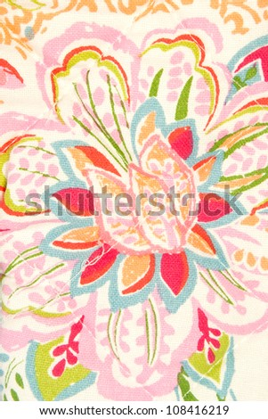 fabric flower pattern,textile background