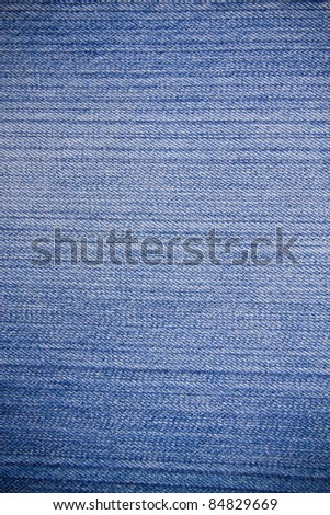 Fabric jean - stock photo