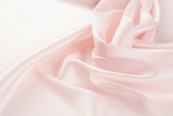 Fabric pale pink.