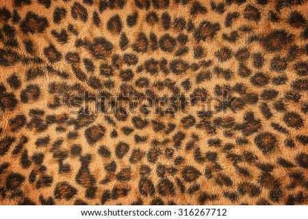 fabric pattern leopard pattern for background and texture #316267712