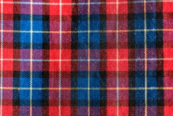 Fabric plaid pattern texture background