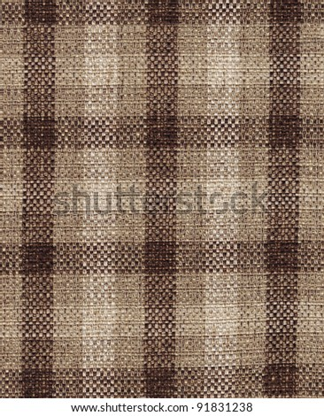 Fabric plaid texture. (High res. scan.)