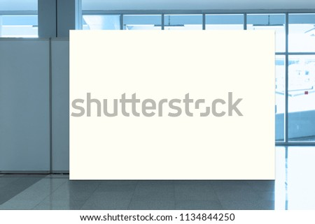 Fabric Pop Up basic unit Advertising banner media display backdrop, empty background #1134844250