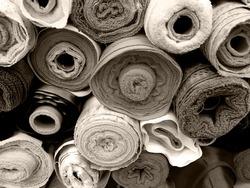 Fabric rolls background  38