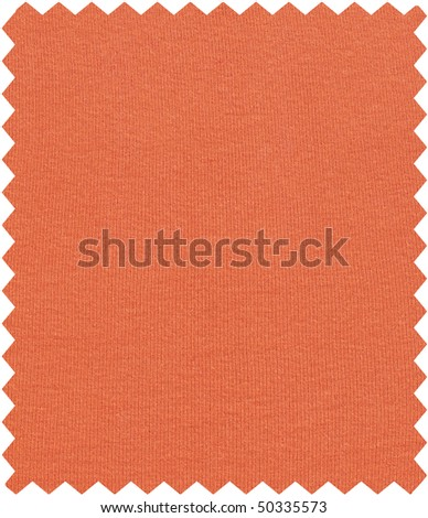 Fabric sample isolated over a white background 2