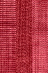 Fabric striped background. Red fiber texture polyester close-up. a fine grain felt red fabric.
