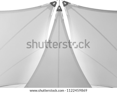 fabric tensile roof structure #1122459869