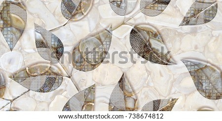 Stock Photo fabric texture background , marble wall , kitchen and bathroom tile , flower texture background, interior wall poster