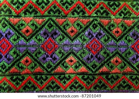 fabric texture thai style