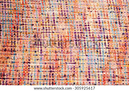 Fabric texture weave a large thread, Abstract drawing. photo studio