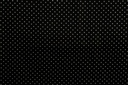 fabric texture: white spots on black background