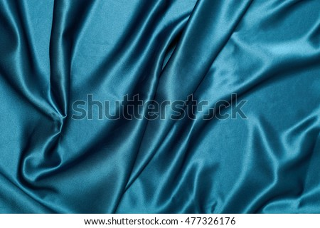 Fabric waves backdrop in one color background