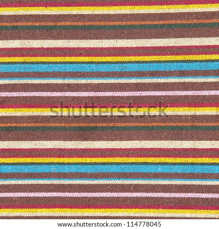 fabric with multicolor pattern