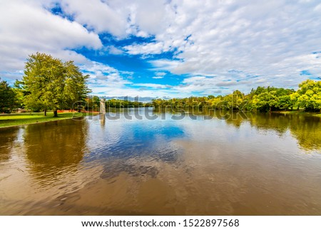 Fabyan Forest Preserve view in Illinois Stock photo ©