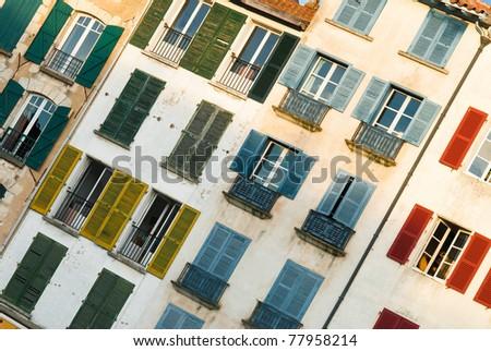 facade - stock photo