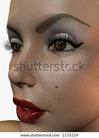 Face Stock foto ©
