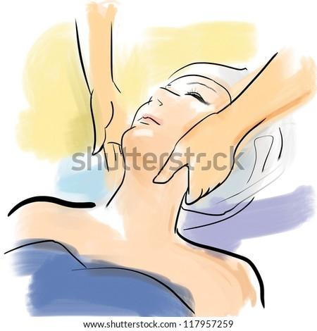 Face beauty treatment salon