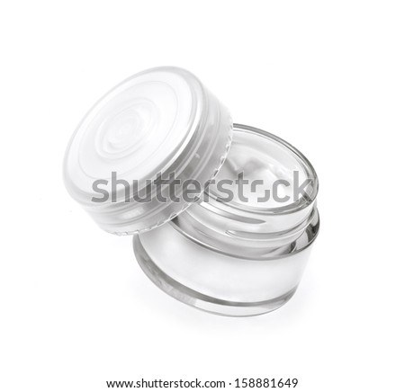 Face cream isolated on white #158881649