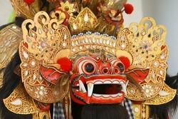 Face of Barong Bali, from Barong Dance Balinese Art Performance