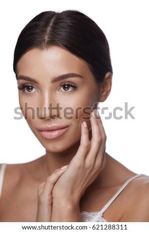 Both hands facial