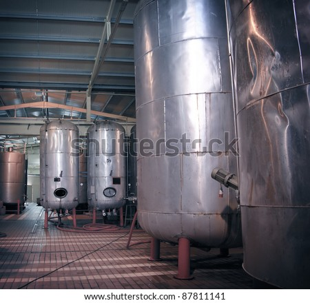 Factory for alcohol