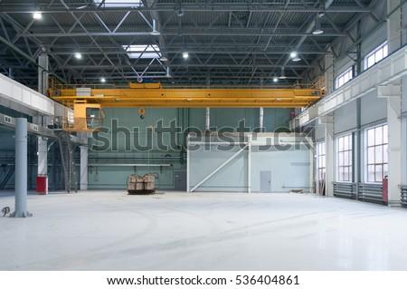 Factory overhead crane #536404861