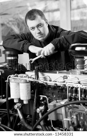 Factory worker - stock photo