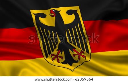 Fahne Flagge Deutschland