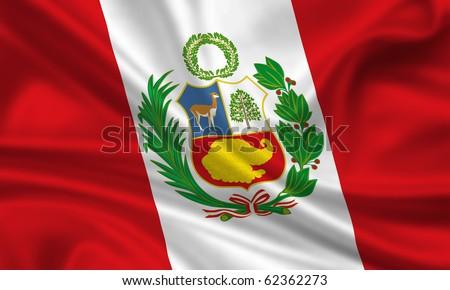 Fahne Flagge Peru