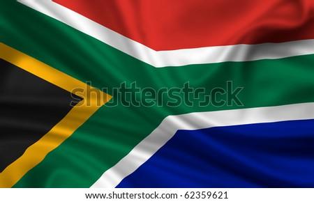 Fahne Flagge S�¼dafrika