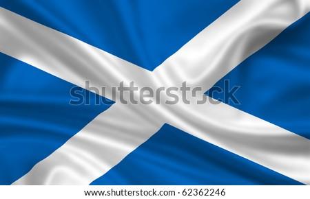 Fahne Flagge Schottland
