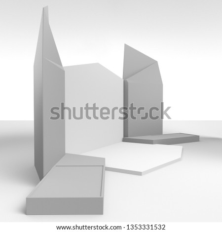 Exhibition Stall Mockup : Shutterstock puzzlepix