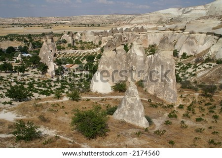 fairy chimney, Cappadocia, Turkey