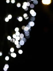 Fairy Light bokeh effect background