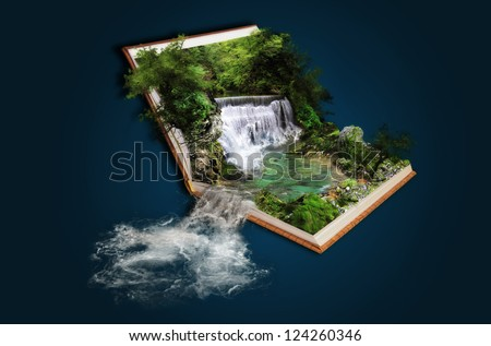 Fairytale in book