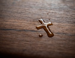 Faith Christianity |  Cross Water Drop